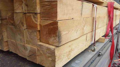 Dřevěné hranoly ceník